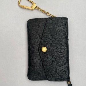 LOUIS VUITTON black Keyholder wallet